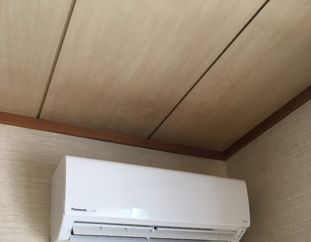 滋賀県近江八幡市のエアコン取り付け作業【ご依頼】