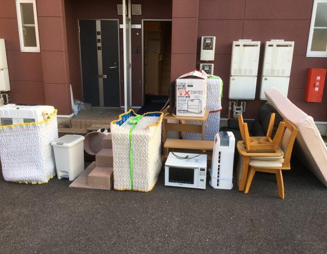 滋賀県草津市の単身引越しのお手伝いと不用品買取、リサイクル品回収作業【ご依頼】