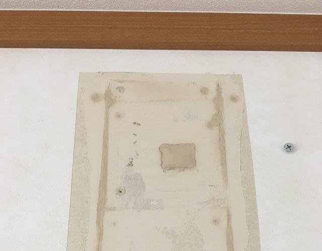 滋賀県守山市の壁穴補修作業のご紹介/自分で壁の穴を塞ぐ方法をご紹介します!【ご依頼】
