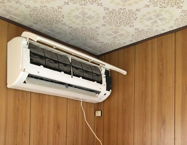 滋賀県栗東市のエアコン取外しと移設作業/電源がない場所でもHEROならしっかりポンプダウンできます◎【ご依頼】